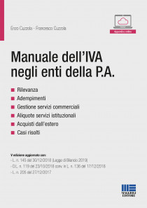 Manuale dell\'IVA negli enti della P.A
